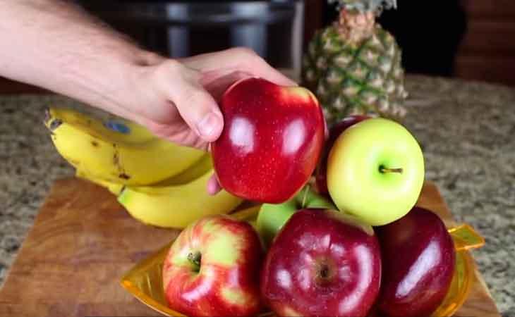 Tallado de frutas