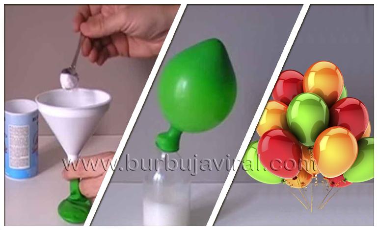 Truco japon s para inflar globos sin necesidad de usar helio - Donde conseguir helio para inflar globos ...
